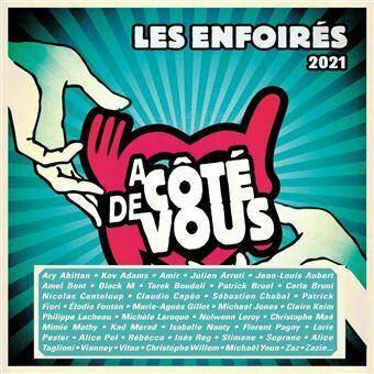 CD de l'édition 2021 des Enfoirés
