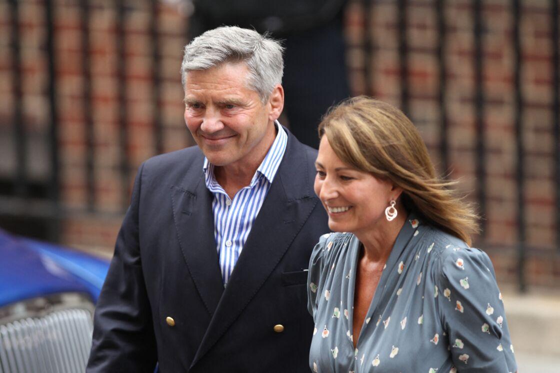 Carole et Michael Middleton, les parents de la duchesse de Cambridge