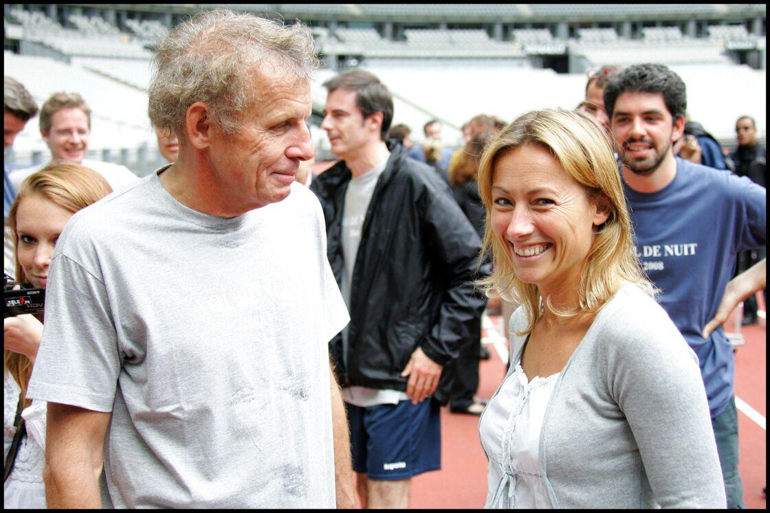 Patrick Poivre d'Arvor et Anne-Sophie Lapix le 16 juin 2008