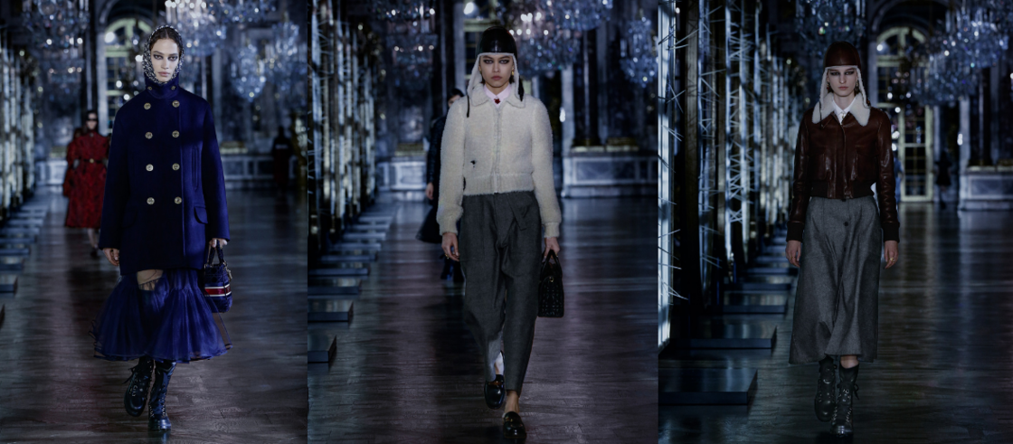 La tendance militaire, selon Dior, fera l'automne-hiver prochain.