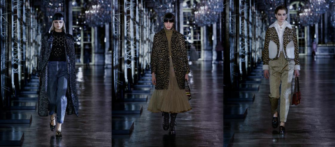 L'imprimé panthère, en état de grâce sur le défilé automne-hiver 2021-2022 de Dior.