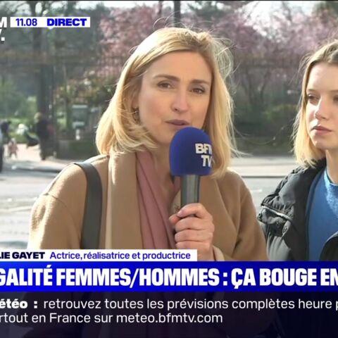 «On a toujours envie que les femmes se crêpent le chignon»: Julie Gayet féministe
