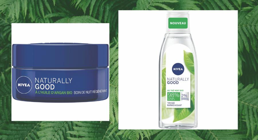 Soin visage jour ou nuit, démaquillant, avec Naturally Good, Nivea voit la vie en vert !