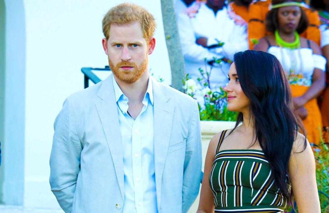 Le prince Harry et Meghan Markle en septembre 2019