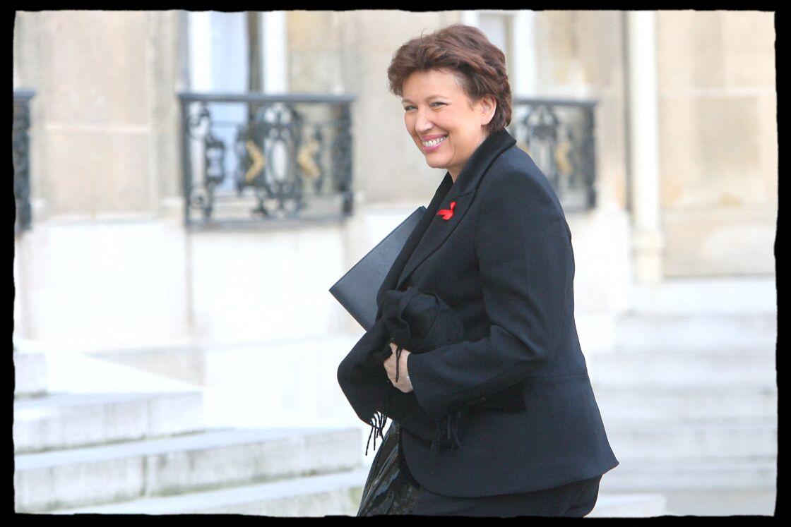 Roselyne Bachelot, ministre de la Santé et des Sports dans le gouvernement Fillon en 2007.