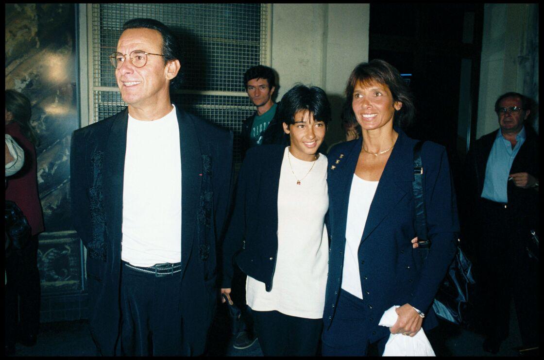 En 1994, Michel et Stéphanie Fugain assistent avec leur fille Laurette à la représentation de