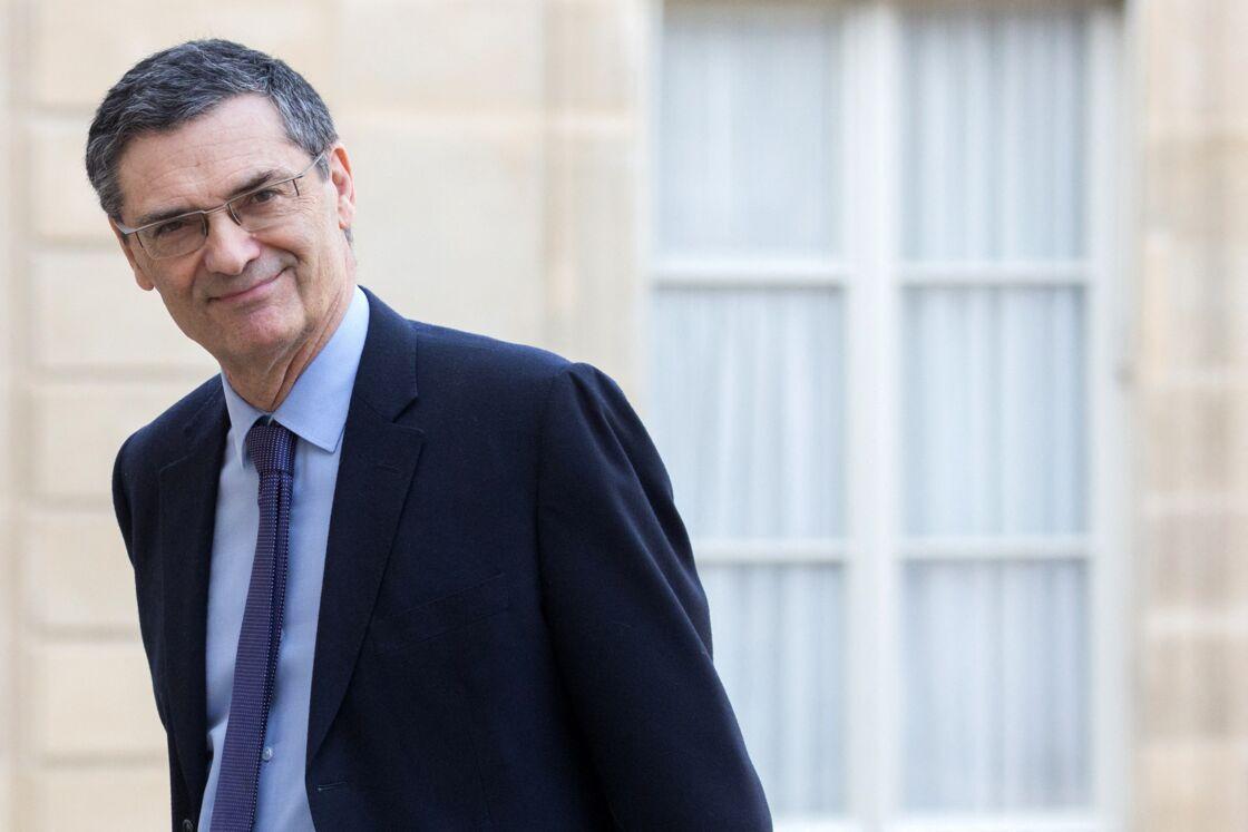Patrick Devedjian à l'Elysée en février 2019