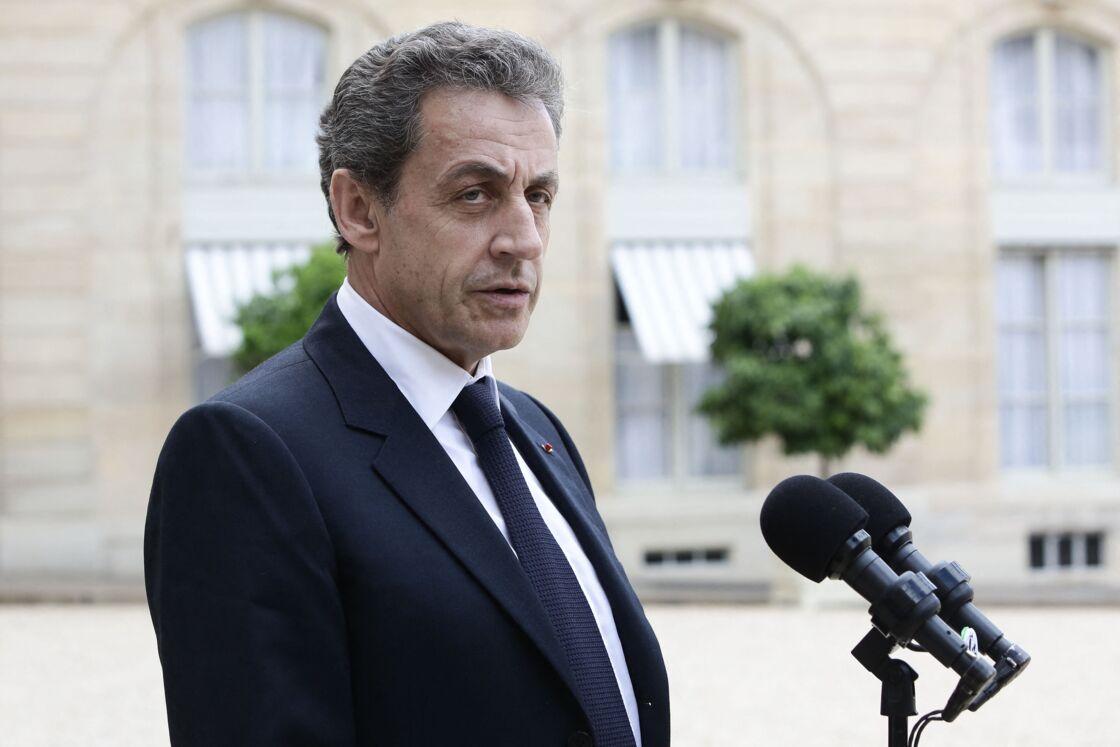 Nicolas Sarkozy le 25 juin 2016 à l'Élysée