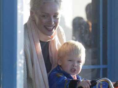 PHOTOS - Sharon Stone heureuse : ses enfants font sa fierté