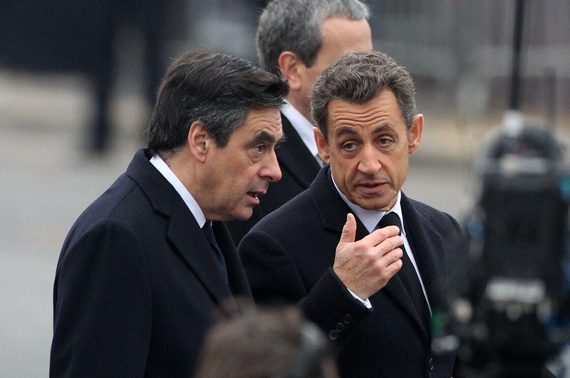 François Fillon et Nicolas Sarkozy en 2011 à Paris