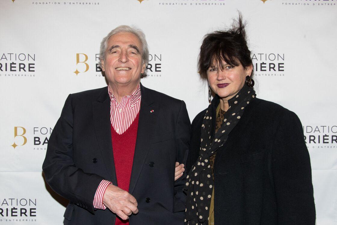 Jean-Loup Dabadie et sa troisième épouse Véronique