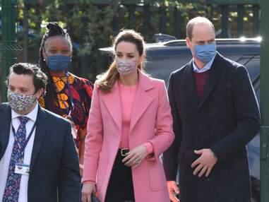 PHOTOS - Le prince William et Kate Middleton : leur première sortie officielle après l'interview de Meghan Markle et Harry