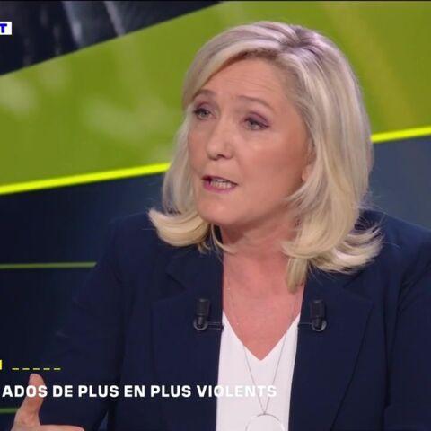 Marine Le Pen lâche ses coups: «Éric Dupond-Moretti c'est Madame Taubira sans la poésie»