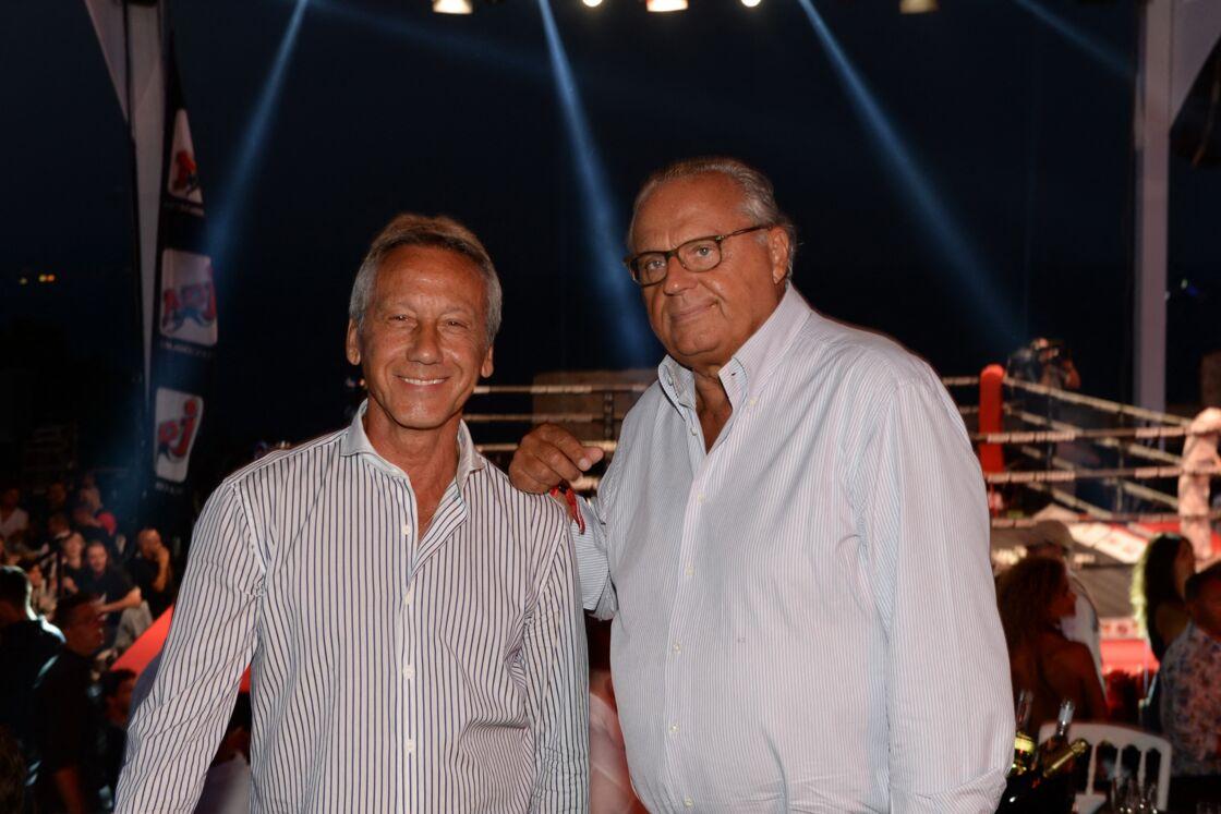 Gérard Louvin et Daniel Moyne en 2015.