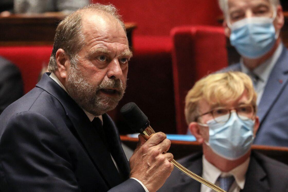 Eric Dupond-Moretti à l'Assemblée nationale le 15 septembre 2020