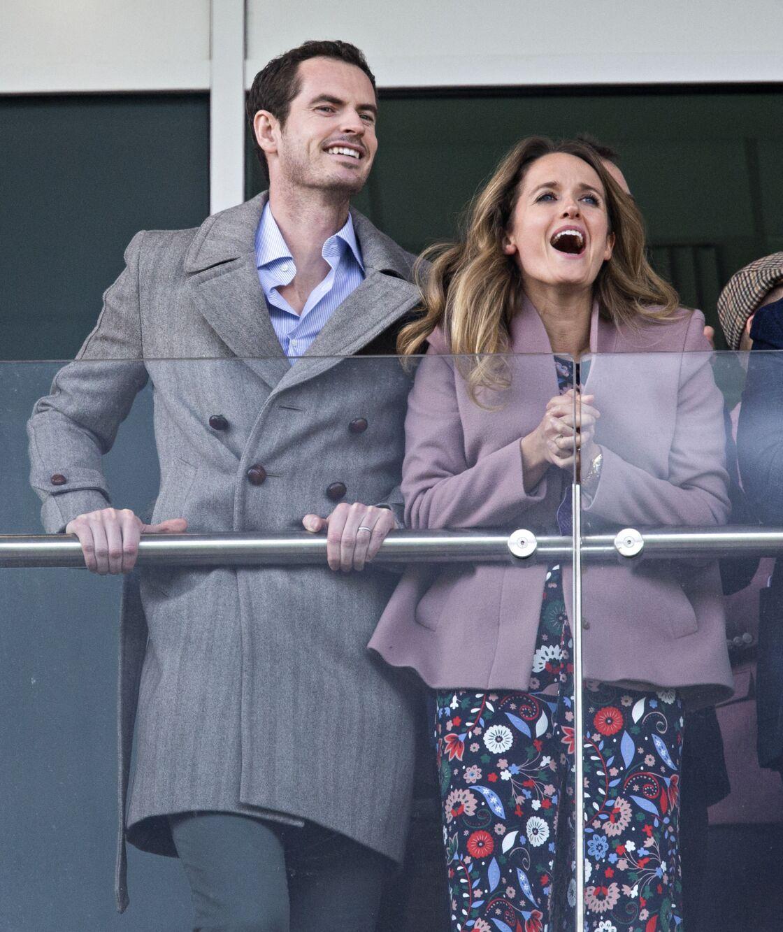 Andy Murray et sa femme en 2019