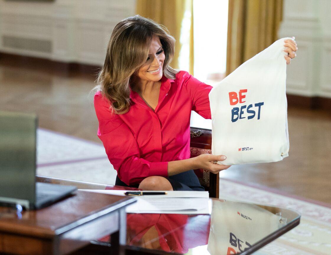 Melania Trump prend la pose pour Be Best à la Maison Blanche en mai 2020