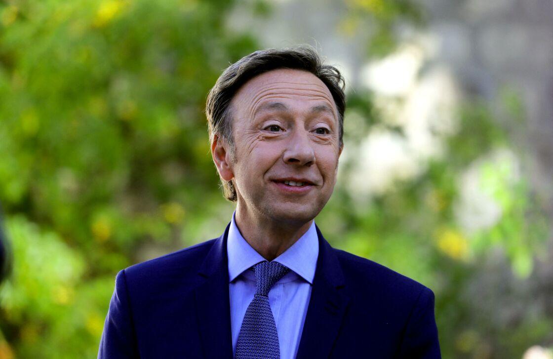 Stéphane Bern au château de By, à Thomery (Seine-et-Marne), le 20 septembre 2019