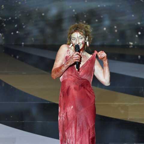 PHOTOS – César 2021: Corinne Masiero totalement nue sur scène… son message sans équivoque