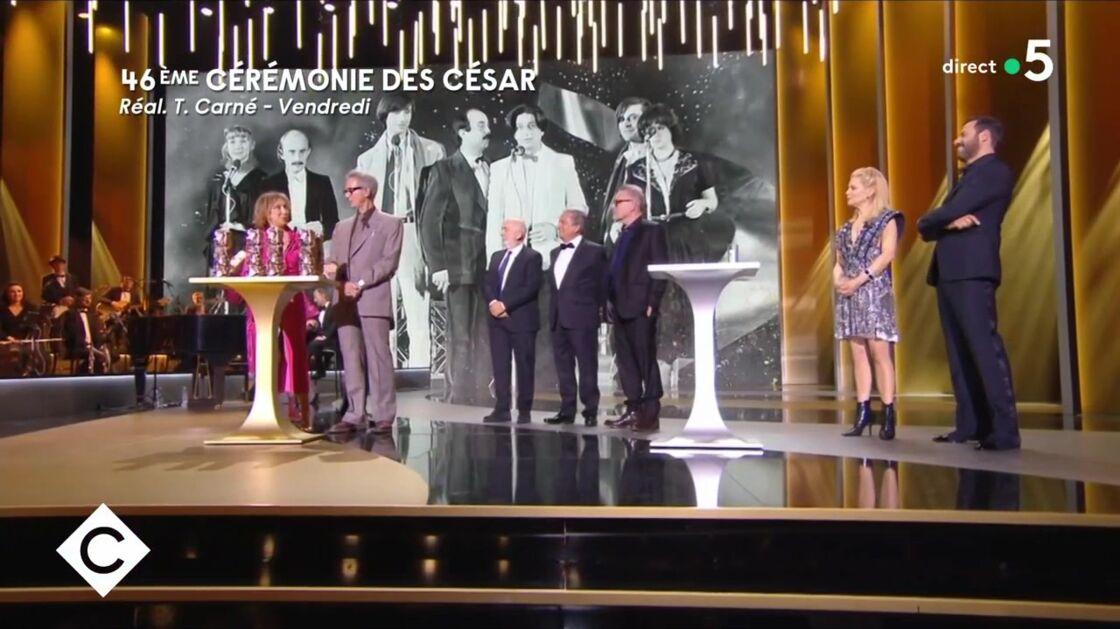 La troupe du Splendid lors des César 2021