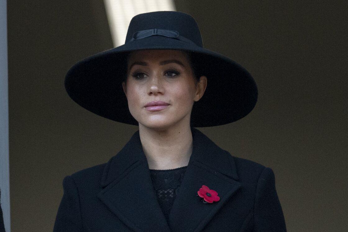 Meghan Markle à Londres, lors du Remembrance Day, le 10 novembre 2019