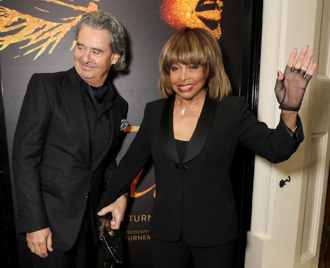 Erwin Bach et Tina Turner le 17 avril 2018