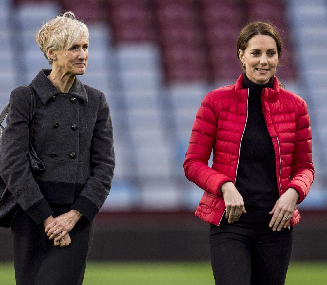 Catherine Quinn et Kate Middleton le 22 novembre 2017 à Birmingham