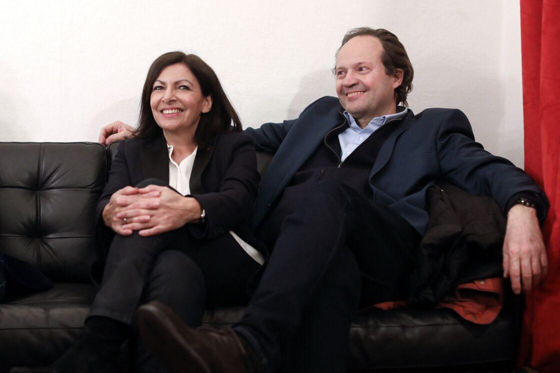 Anne Hidalgo et Jean-Marc Germain en mars 2020