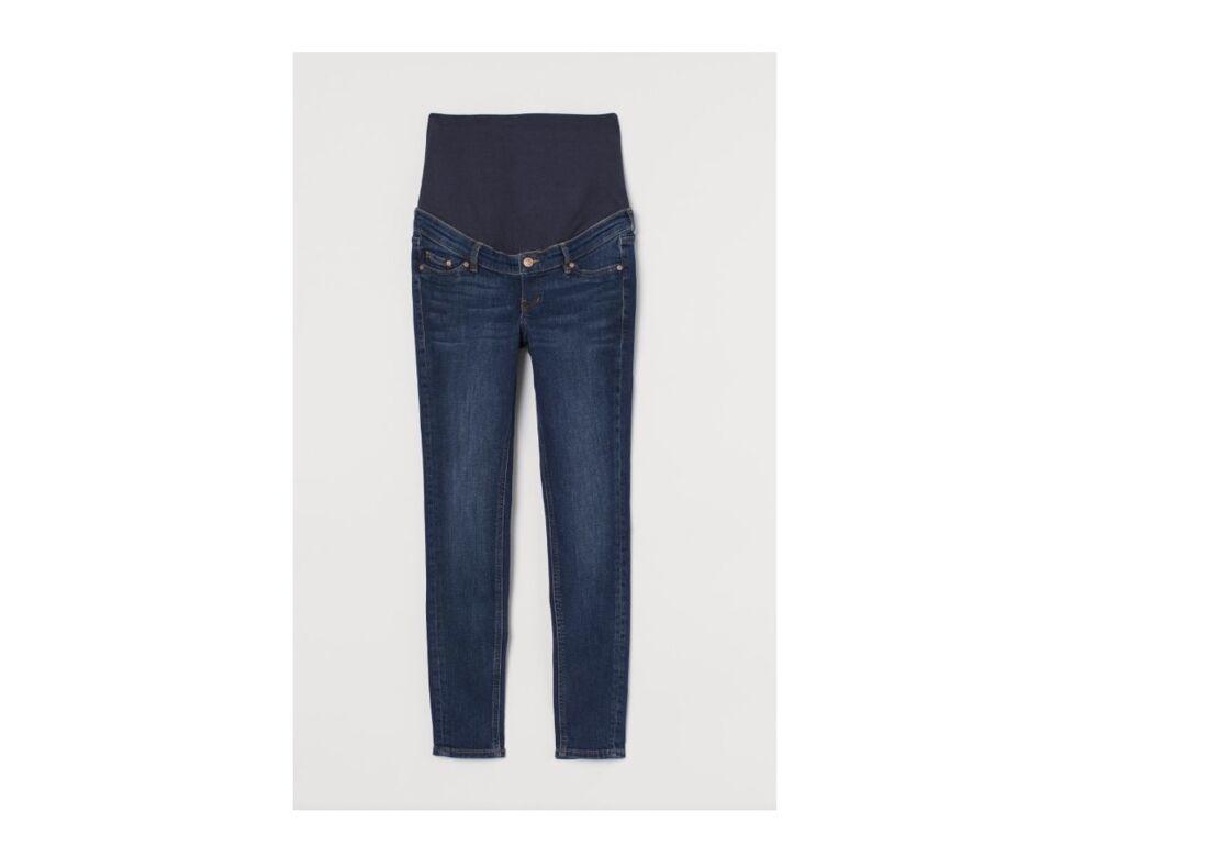 Le jean skinny de grossesse à tout bon, 39,99 € H&M.