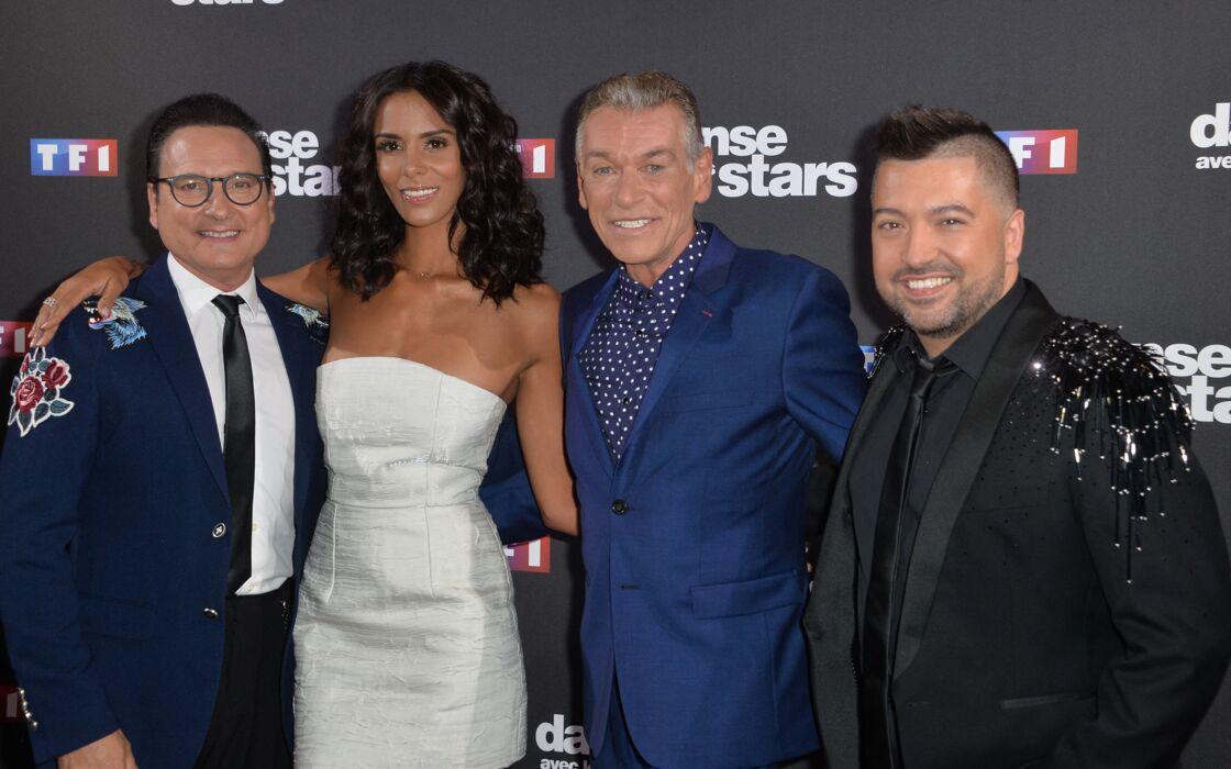 Jean-Marc Généreux, Shy'm, Patrick Dupond et Chris Marques au photocall de la saison 10 de l'émission
