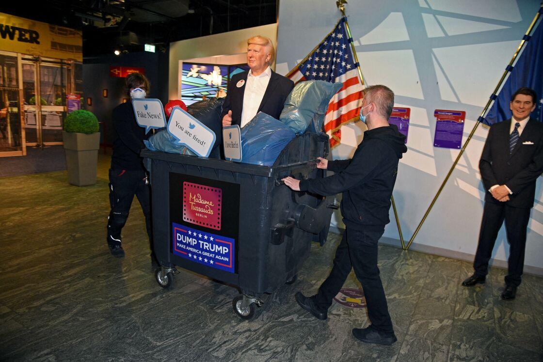 Une statue de Donald Trump au musée Tussauds de Berlin