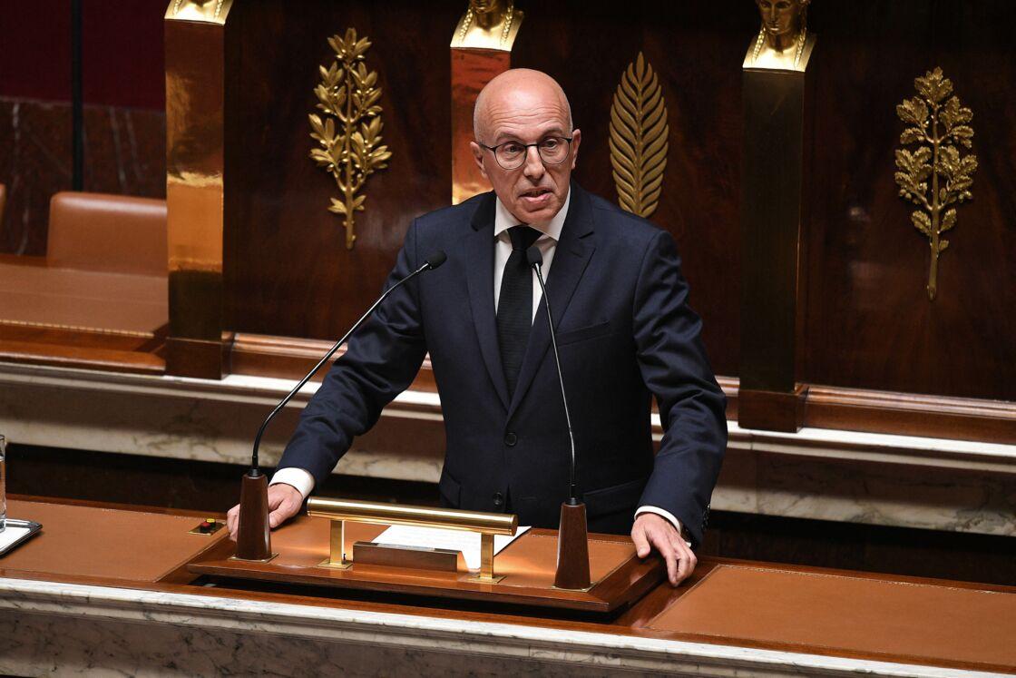 Éric Ciotti à l'Assemblée nationale