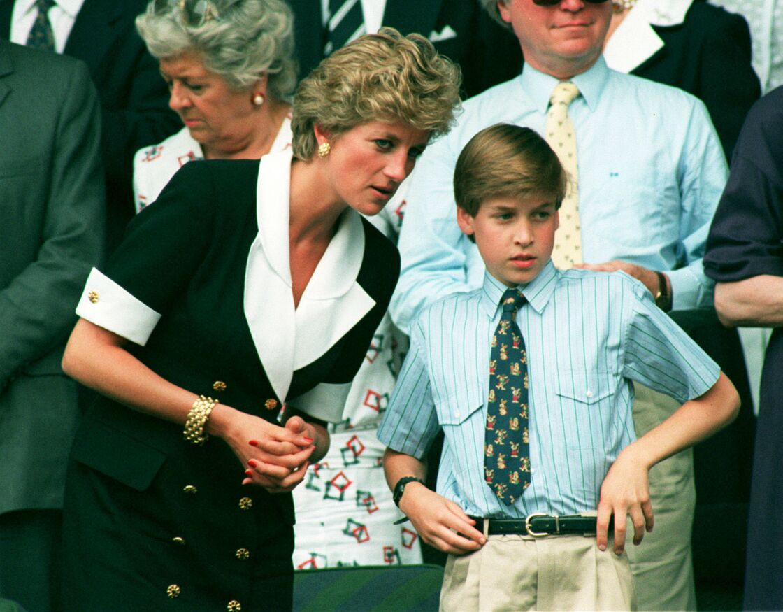 En 1994, le prince William, alors âgé de 13 ans, assistait avec sa mère à la finale dames de Wimbledon.