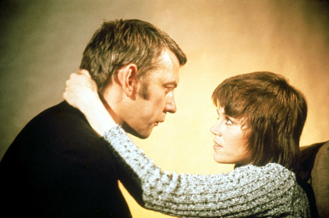 Donald Sutherland et Jane Fonda