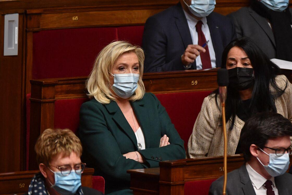 Marine Le Pen à l'Assemblée nationale