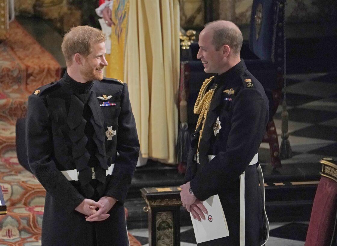 Les princes William et Harry avant la tourmente