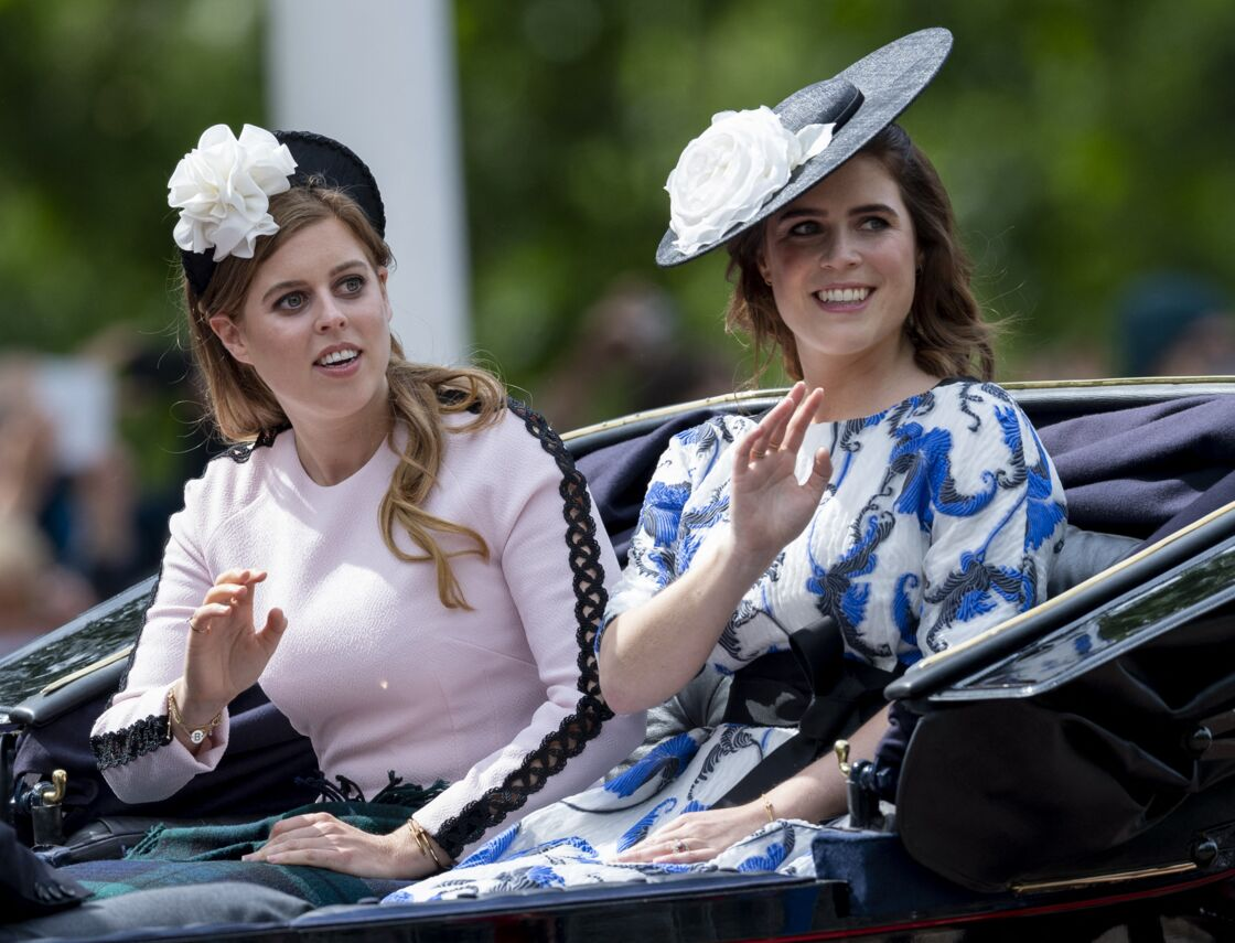 Les princesses Eugenie et Beatrice de York