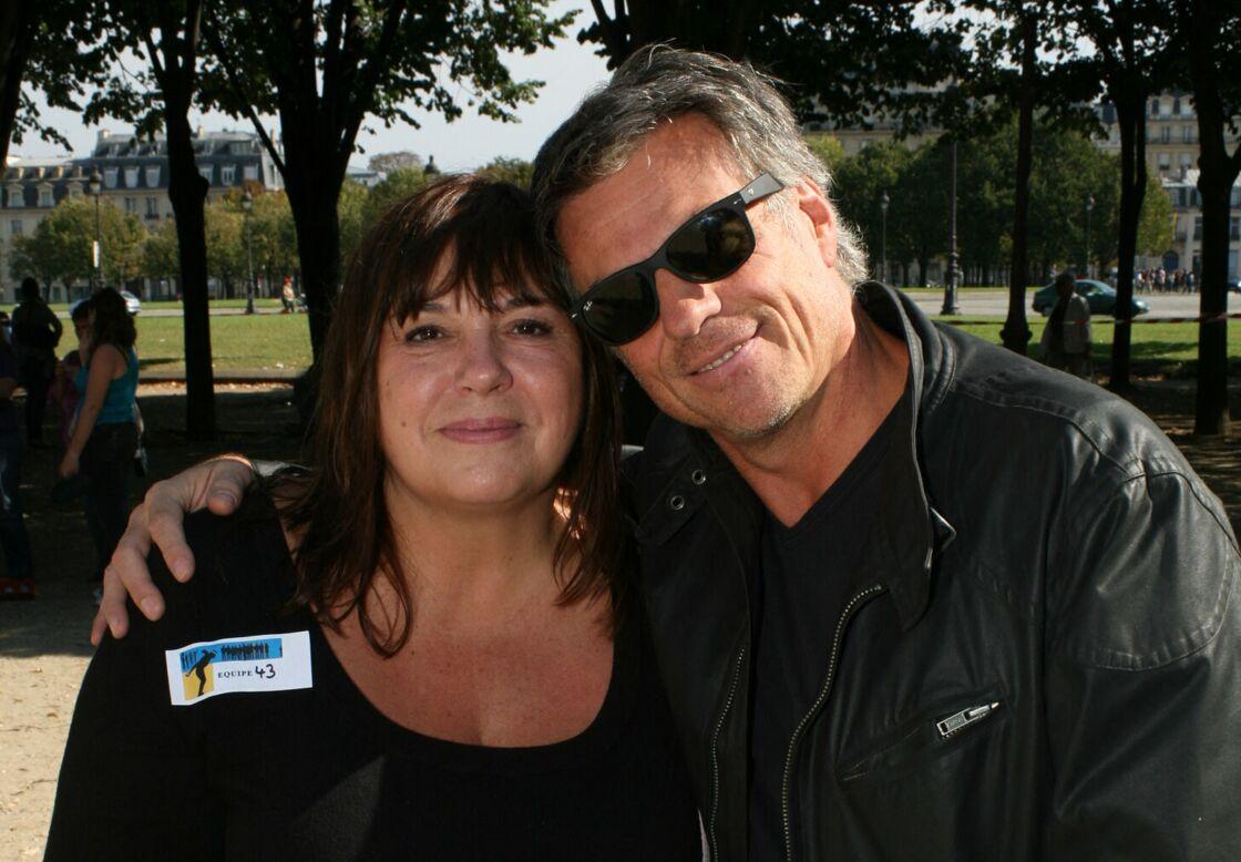 Michèle Bernier et Bruno Gaccio en septembre 2014