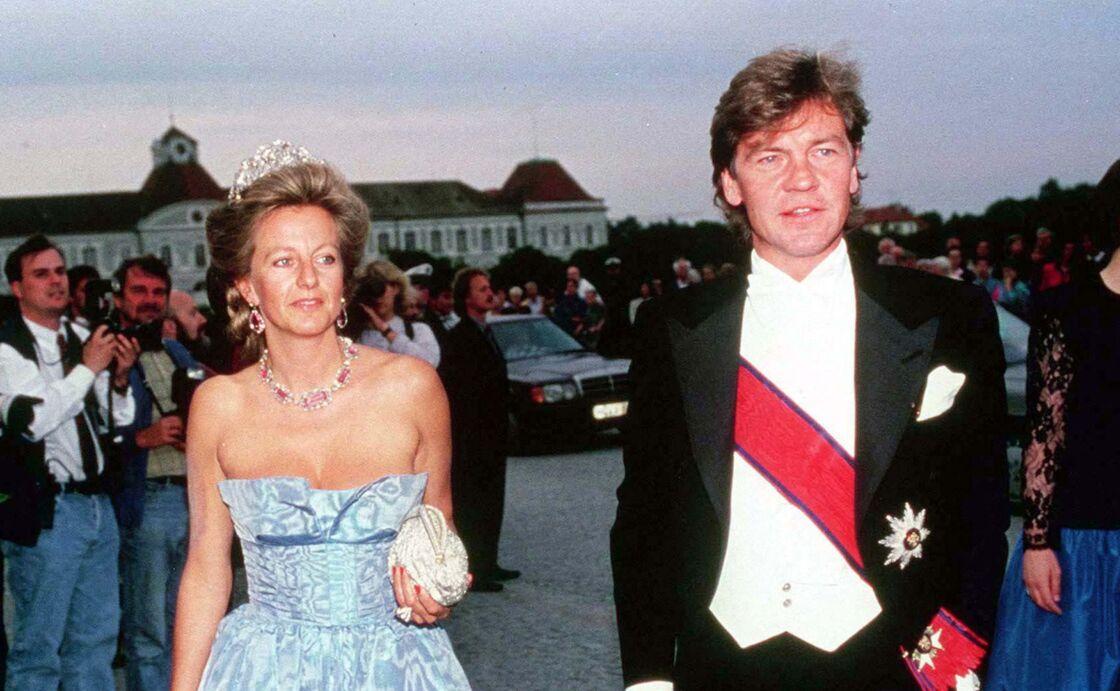 Ernst August de Hanovre aux côtés de son ex-épouse, Chantal Hochuli
