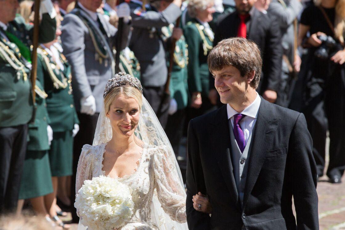 Mariage du prince Ernst August Jr de Hanovre et de Ekaterina Malysheva à l'église Marktkirche de Hanovre, le 8 juillet 2017