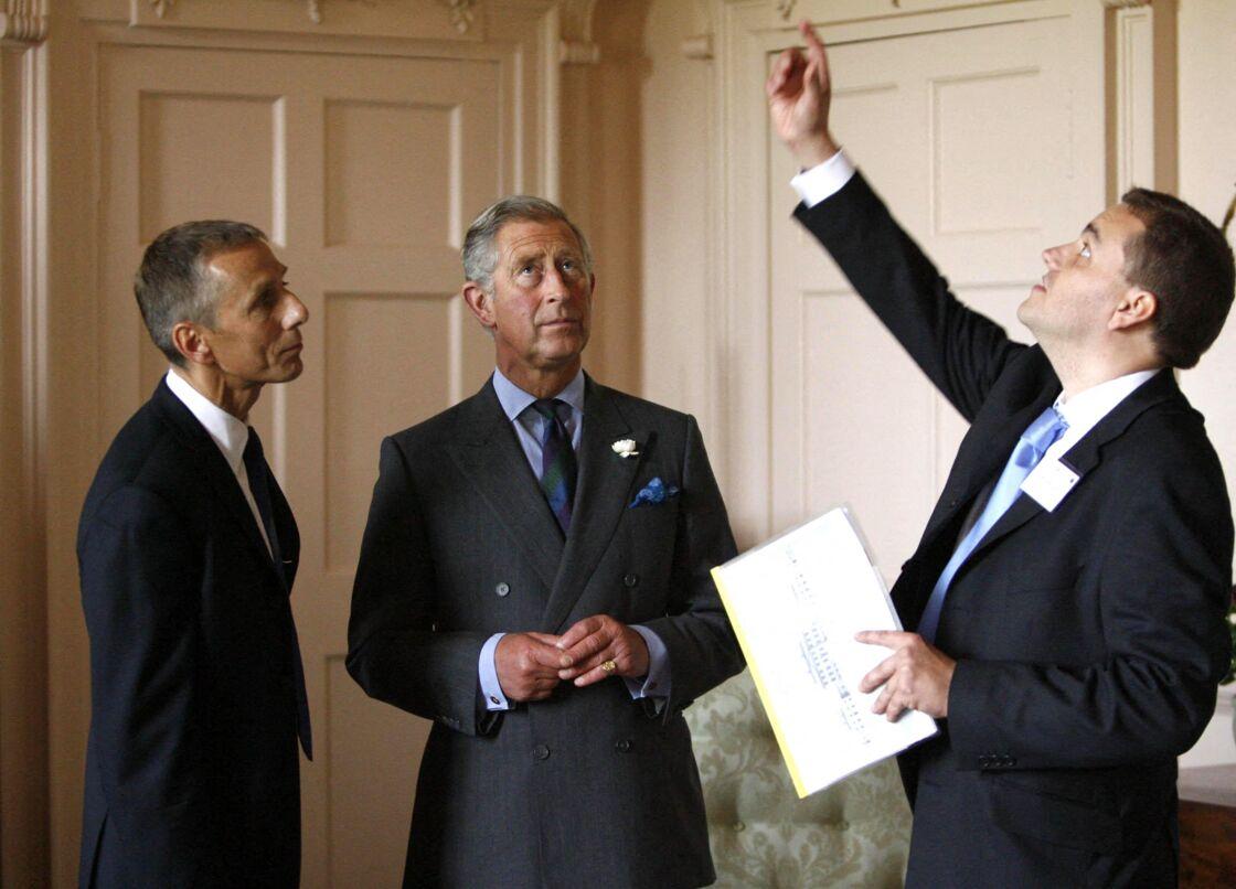 Le prince Charles et le marquis de Bute (à gauche) en 2007.