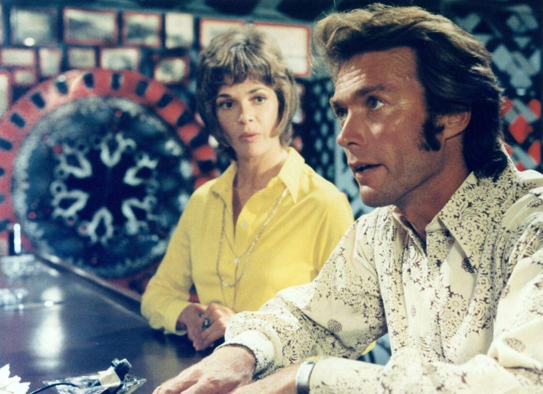 Jessica Walter et Clint Eastwood dans