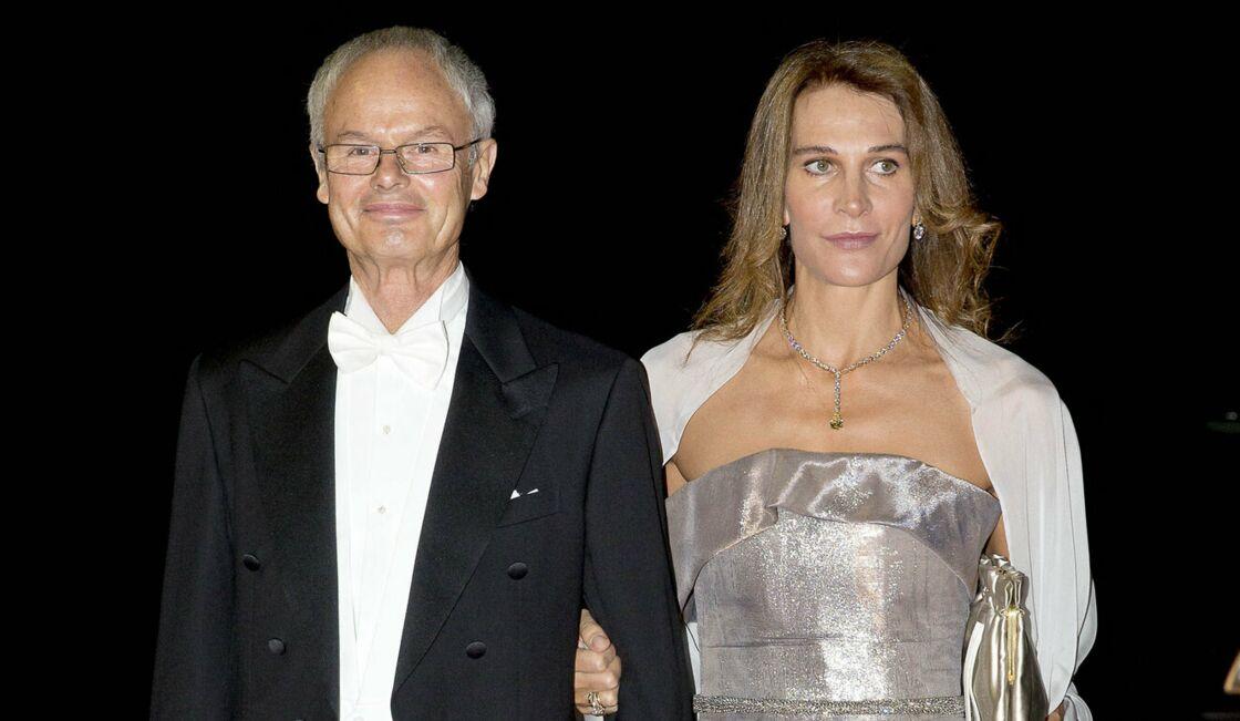 Álvaro de Orleans et sa femme Antonella le 8 octobre 2016 en Albanie