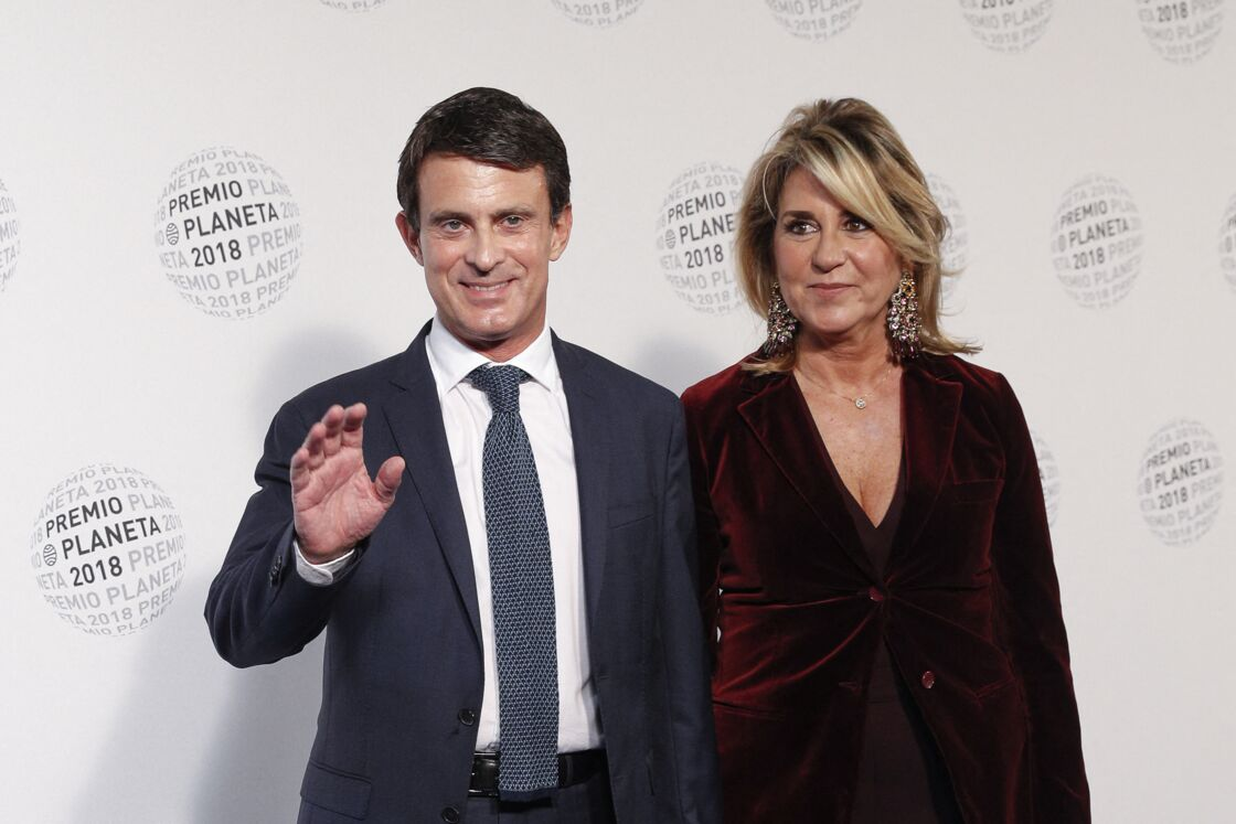 Manuel Valls et Susanna Gallardo le 15 octobre 2018 à Barcelone