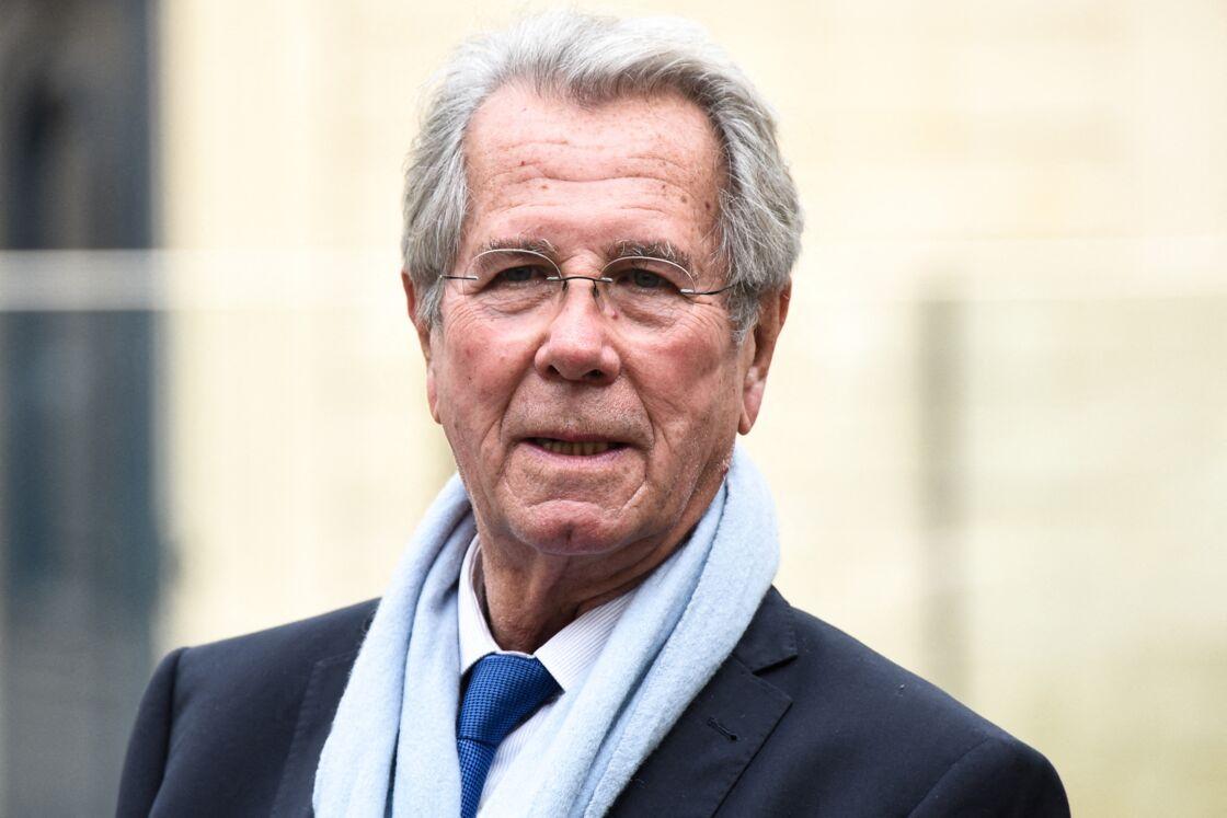 Jean-Louis Debré, après sa réunion avec Jean Castex à Paris, le 13 novembre 2020.