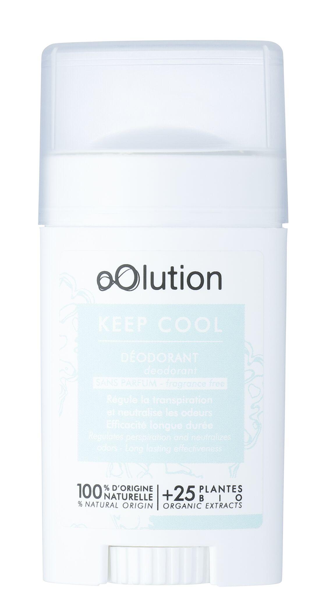 Déodorant Keep Cool, Oolution, 12 € sur oolution.com