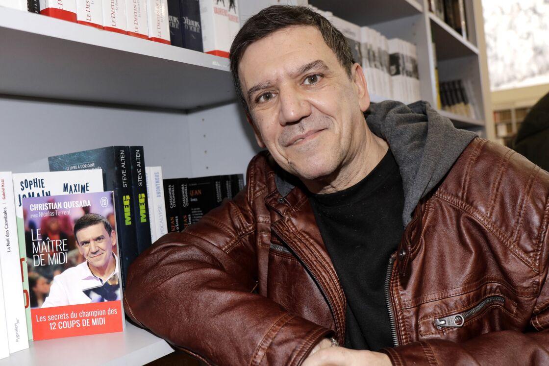 Christian Quesada le 16 mars 2019 au Salon du livre de Paris
