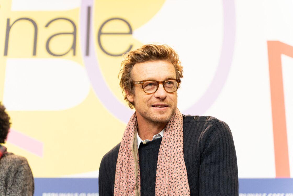 Simon Baker - Conférence de presse du film