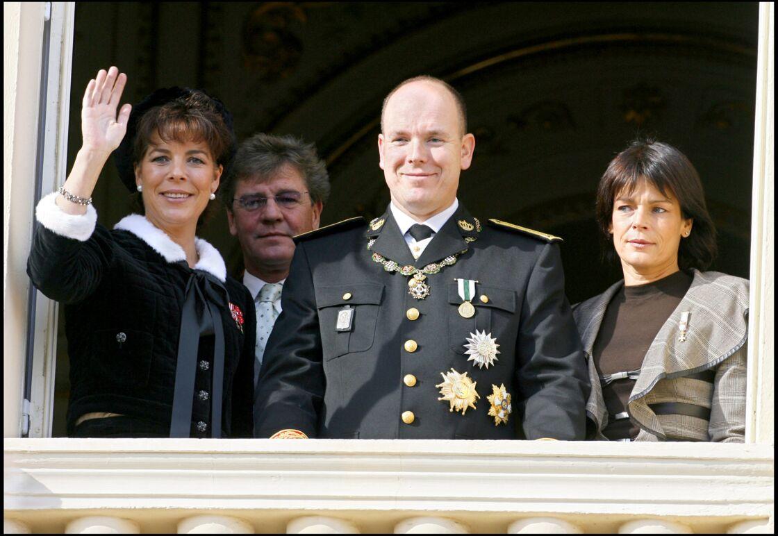 La famille de Monaco à la fête nationale monégasque en 2006