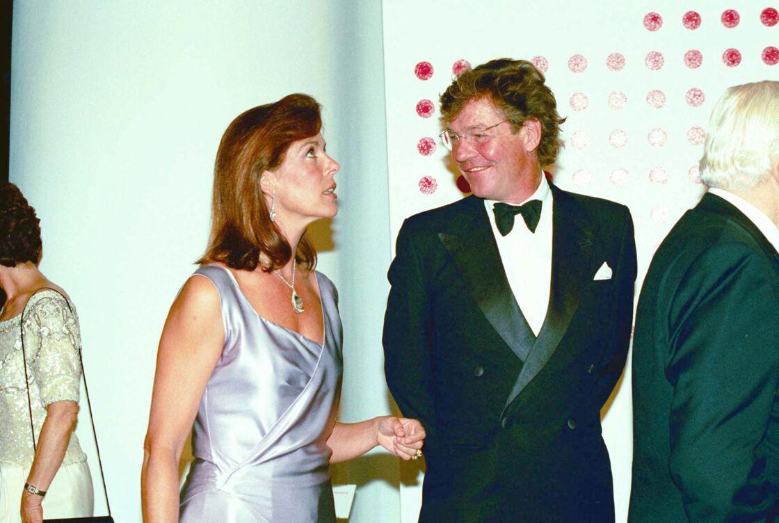 Ernst August de Hanovre et Caroline de Monaco ensemble en 2000